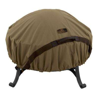 Hickory 60 in. Round Fire Pit Cover