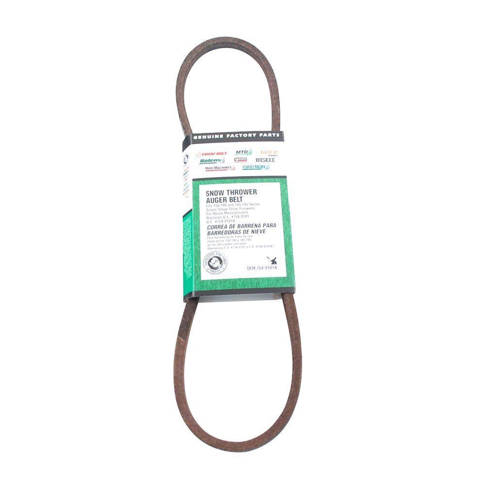 Single-Stage Auger Belt OEM-754-0101A