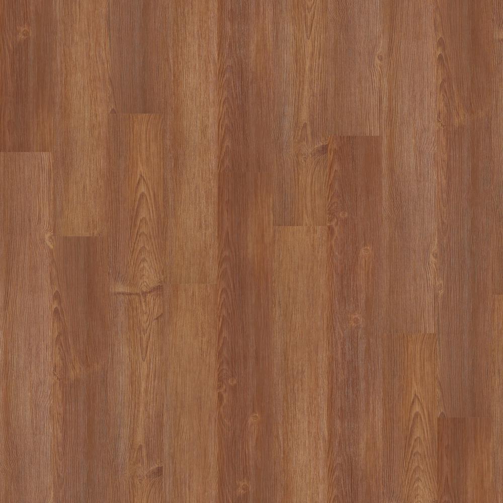 New Liberty 6 mil Gunstock 6 in. x 48 in. Glue Down Vinyl Plank Flooring (53.93 sq. ft./case)