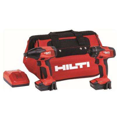 12-Volt Lithium-Ion Cordless Rotary Impact Drill/Drill Driver Combo Kit (2-Tool)