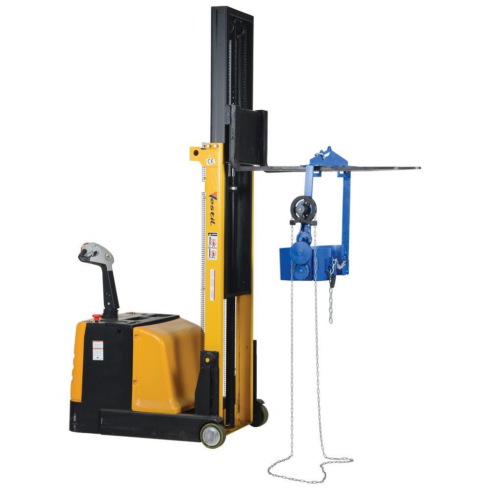 Vestil 1,500 lb. Capacity Drum Hoist Carrier/Rotator