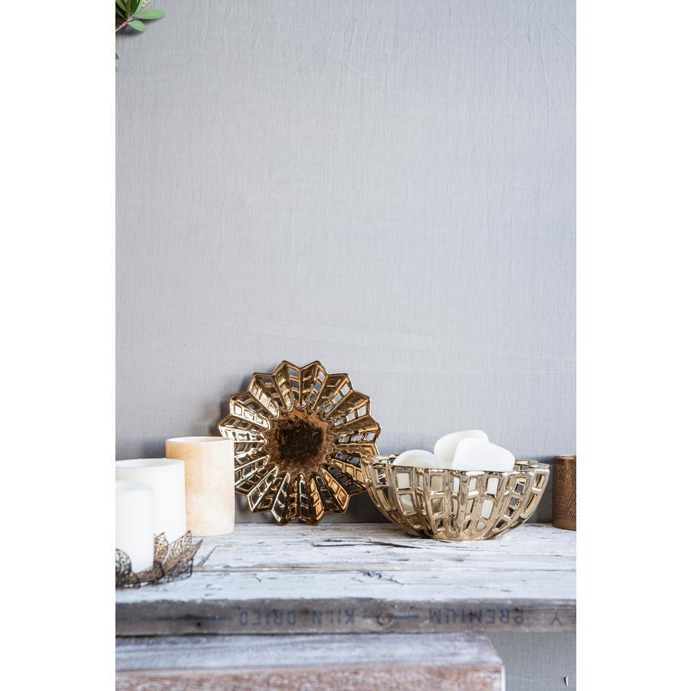 Manzu Gold Decorative Bowl