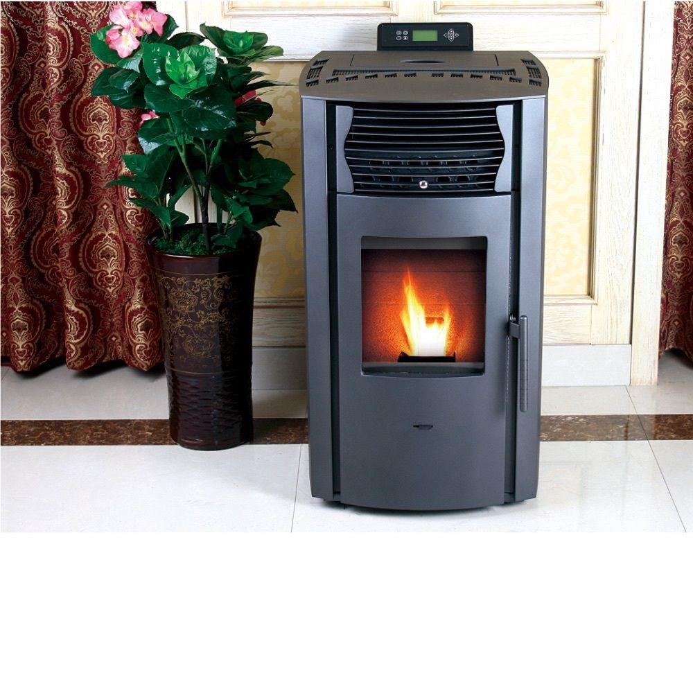 Epa Certified Pellet Stove With Auto Ignition And 47 Lb