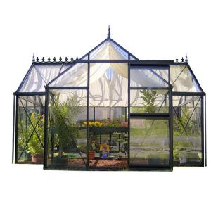 Exaco Junior Orangerie 12.5 ft. x 7.5 ft. Greenhouse by Exaco