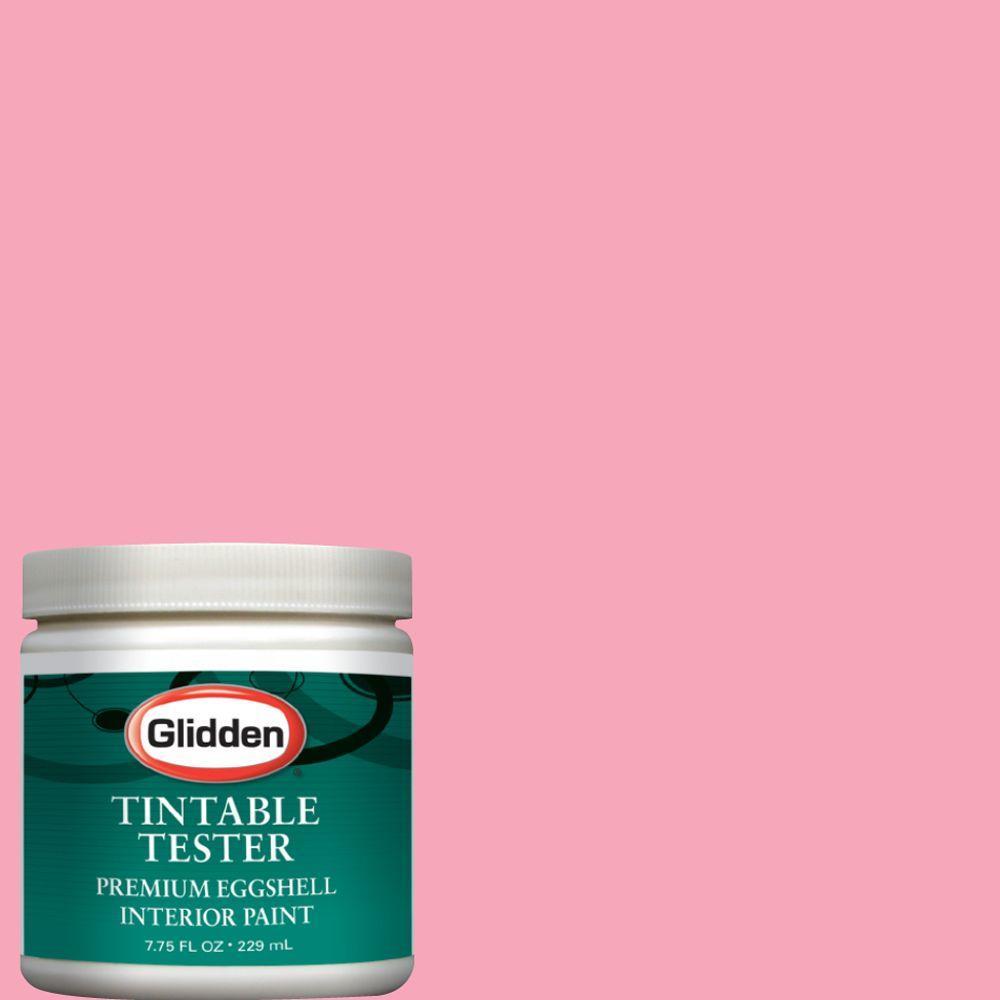 Glidden Premium 8-oz. Pink Carnation Interior Paint Tester