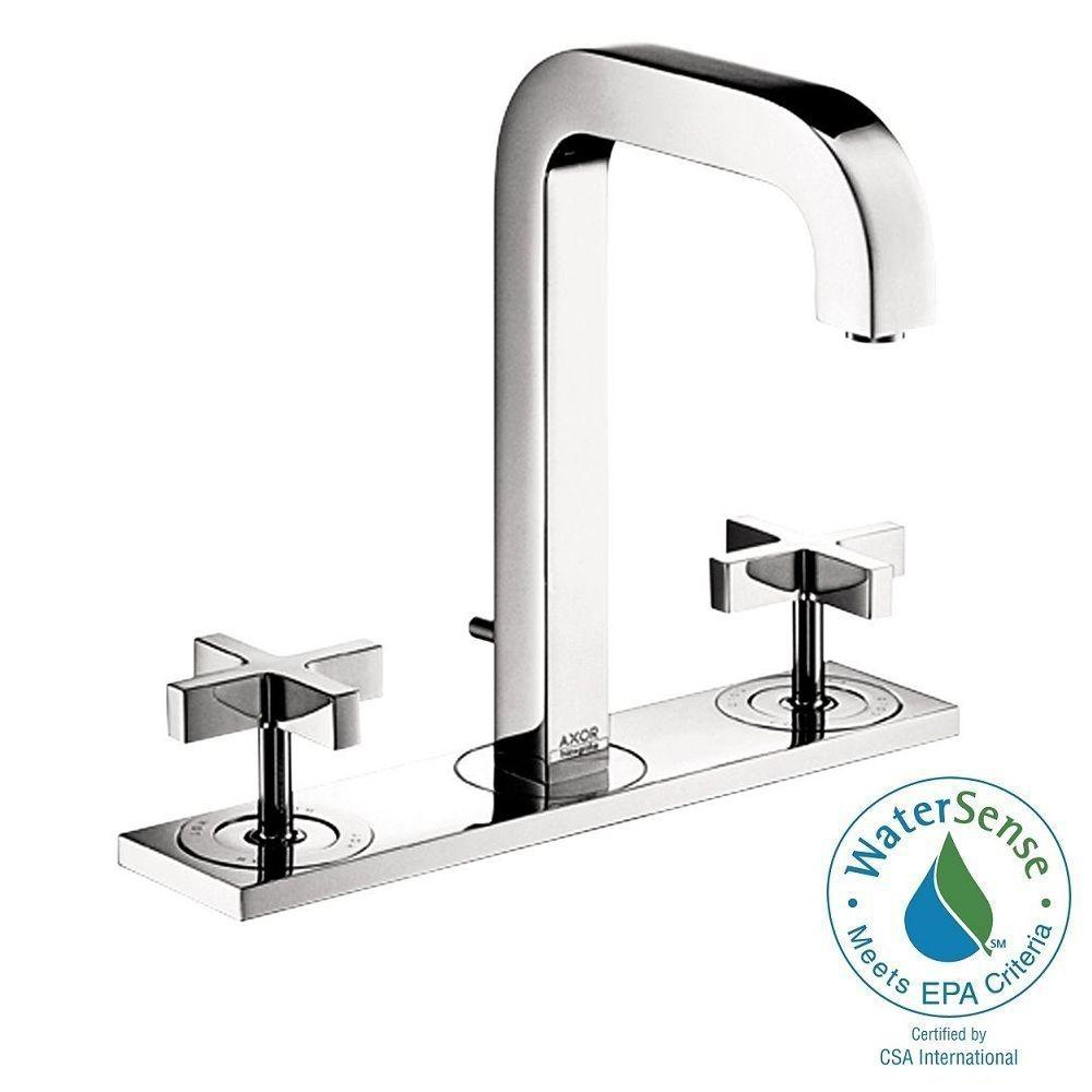 hansgrohe bathroom sink faucets hansgrohe citterio 8 in widespread 2 handle mid arc 18667