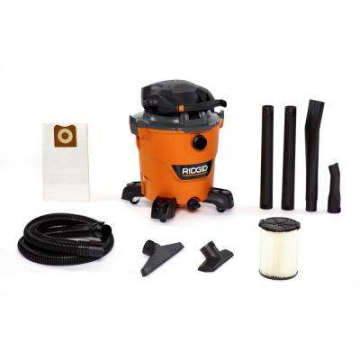 12 Gal. 6.0-Peak HP NXT Wet/Dry Shop Vacuum with Detachable Blower, Filter, Dust Bag, Hose and Accessories
