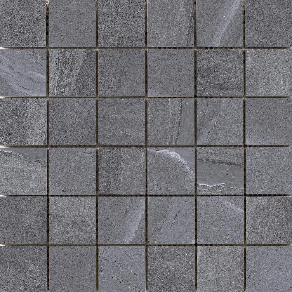 Emser Access Voyage 11.73 in. x 11.73 in. x 9mm Porcelain Mesh-Mounted Mosaic Tile