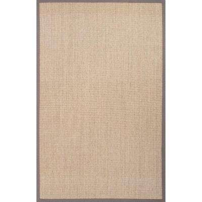 Hand Made Tan 2 ft. x 3 ft. Solid Area Rug