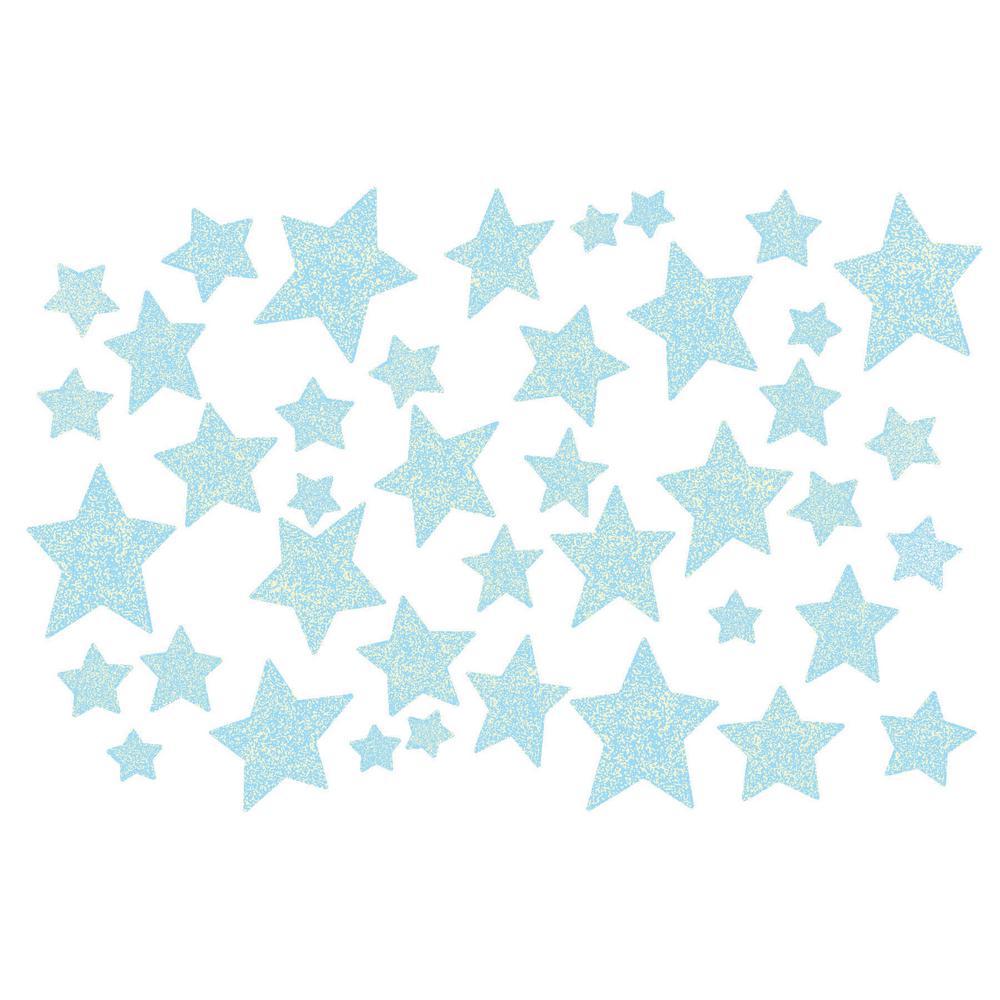 Wall Pops Star Struck Glow in the Dark Wall Art Kit Wall Decals