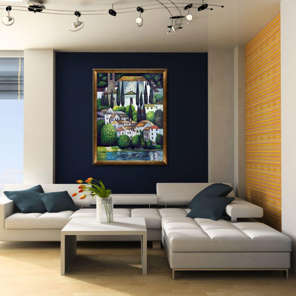 LA PASTICHE OverstockArt is an art manufacturer of framed hand painted oil reproductions and canvas art prints., Multi-Colored was $1493.0 now $703.31 (53.0% off)
