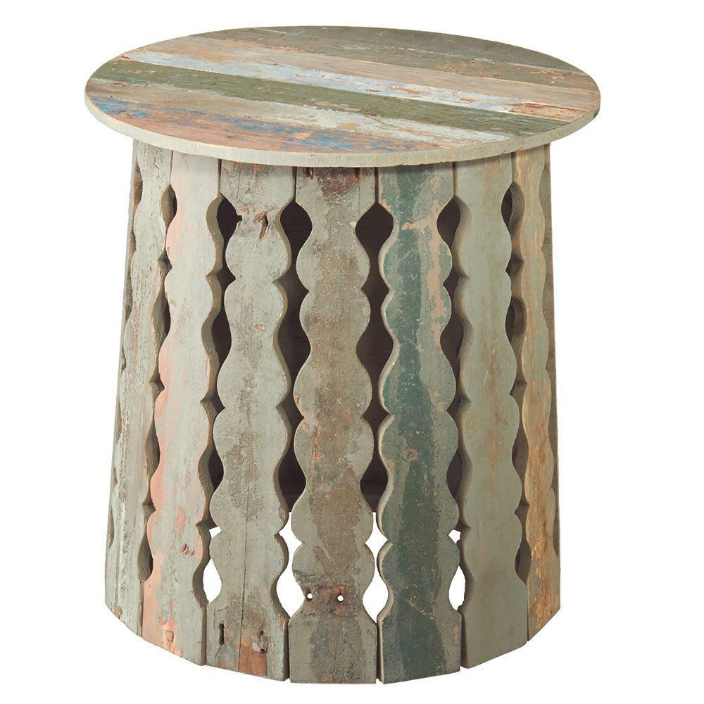 Filament Design Sundry Multi Colored Side Table