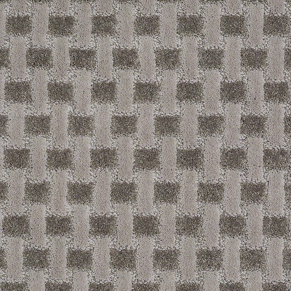 Carpet Sample - King's Cross - In Color Evening Mist 8 in. x 8 in.