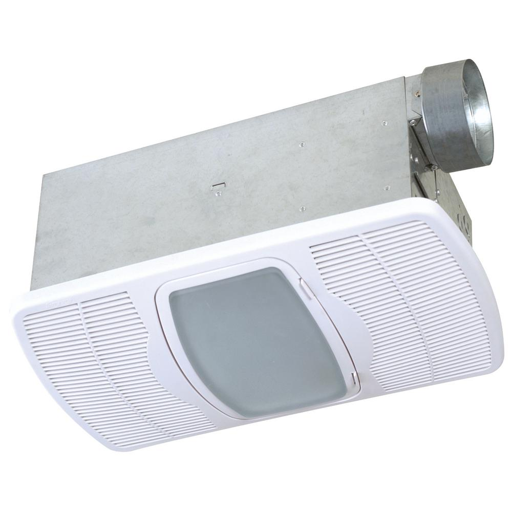 Deluxe Combination Heater 70 CFM Ceiling Exhaust Fan with Overhead Light