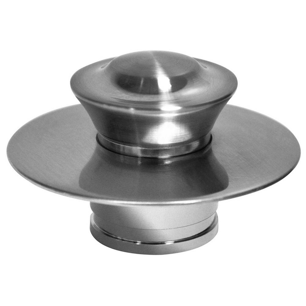 EZ Drain Cover in Brushed Nickel