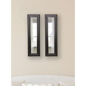 11.5 inch x 29.5 inch Royal Curve Vanity Mirror (Set of 2-Panels) by