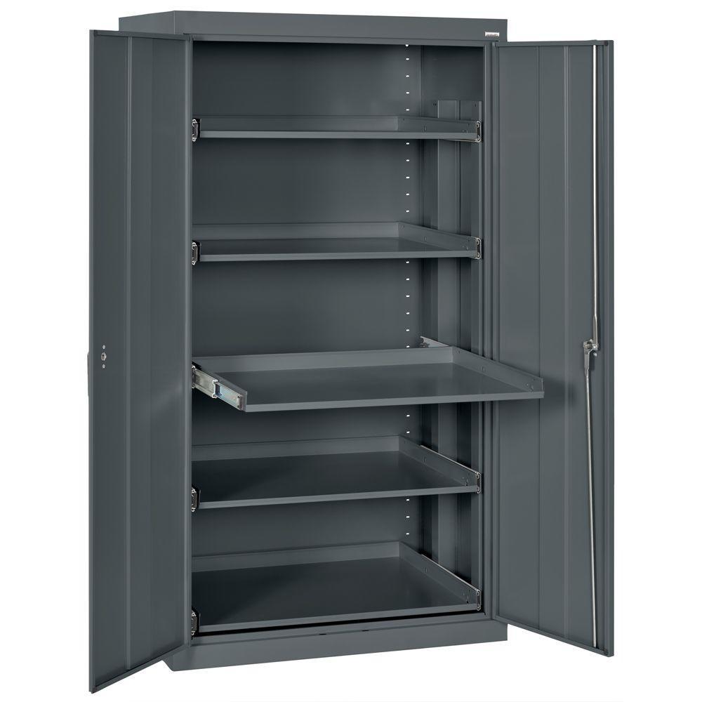 e420ea1e08e Sandusky 66 in. H x 36 in. W x 24 in. D Steel Heavy Duty Storage ...