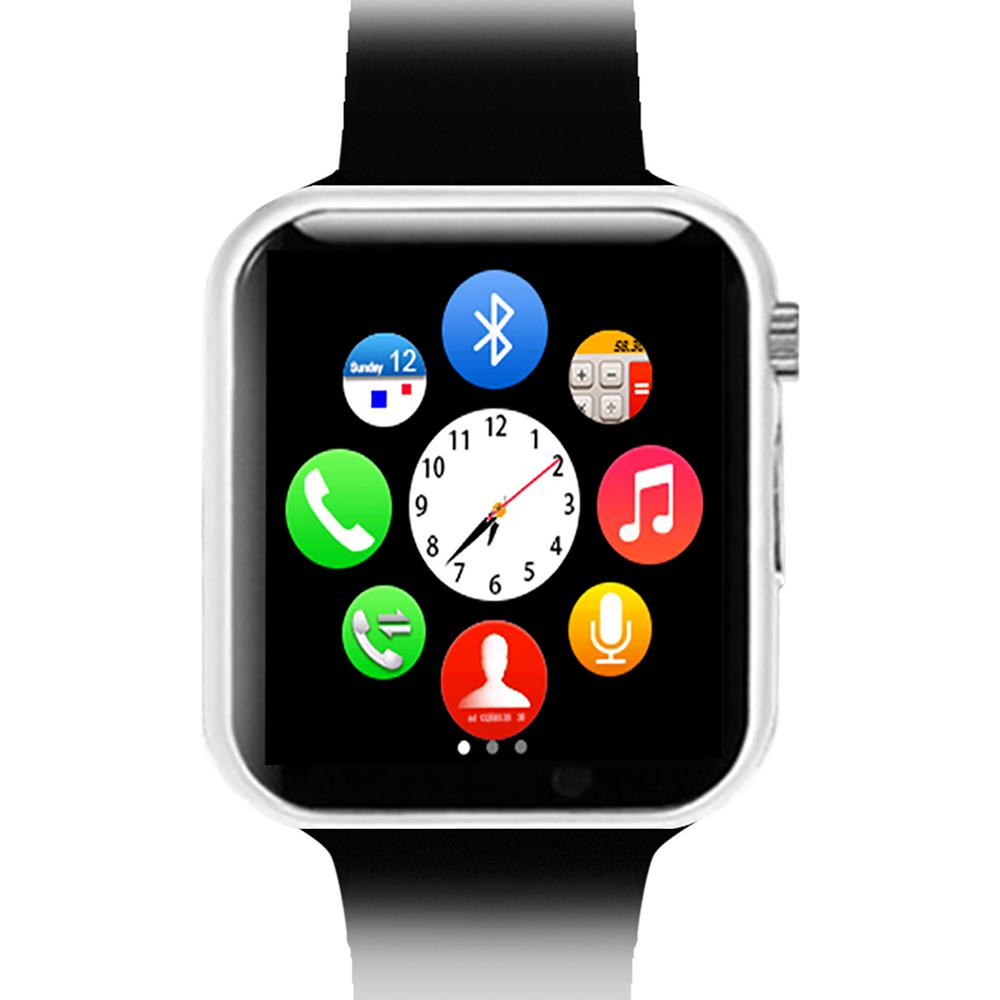 Black Bluetooth Smart Watch with Camera