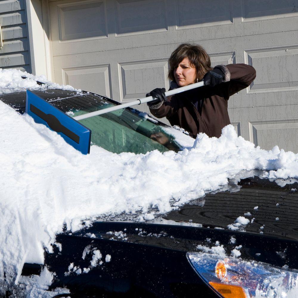NEW Small Snow Brush w// Ice Scraper Car Truck Windshield Scrapers Winter Durable