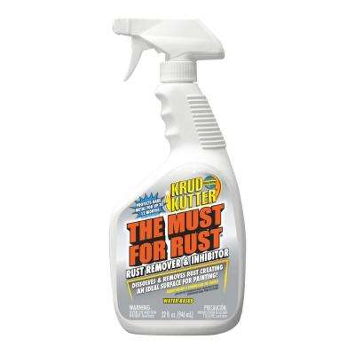 The Must for Rust 32 oz.  Rust Remover and Inhibitor Spray