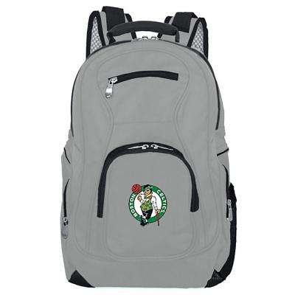 NBA Boston Celtics 19 in. Gray Laptop Backpack