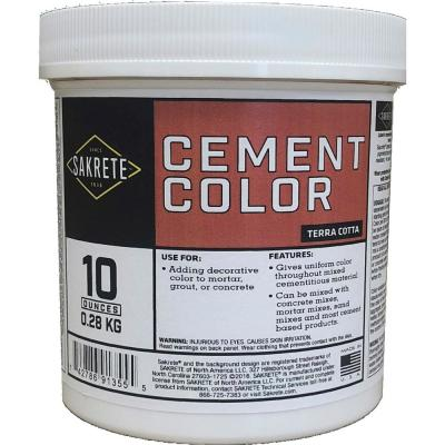 10 oz. Cement Color Terracotta