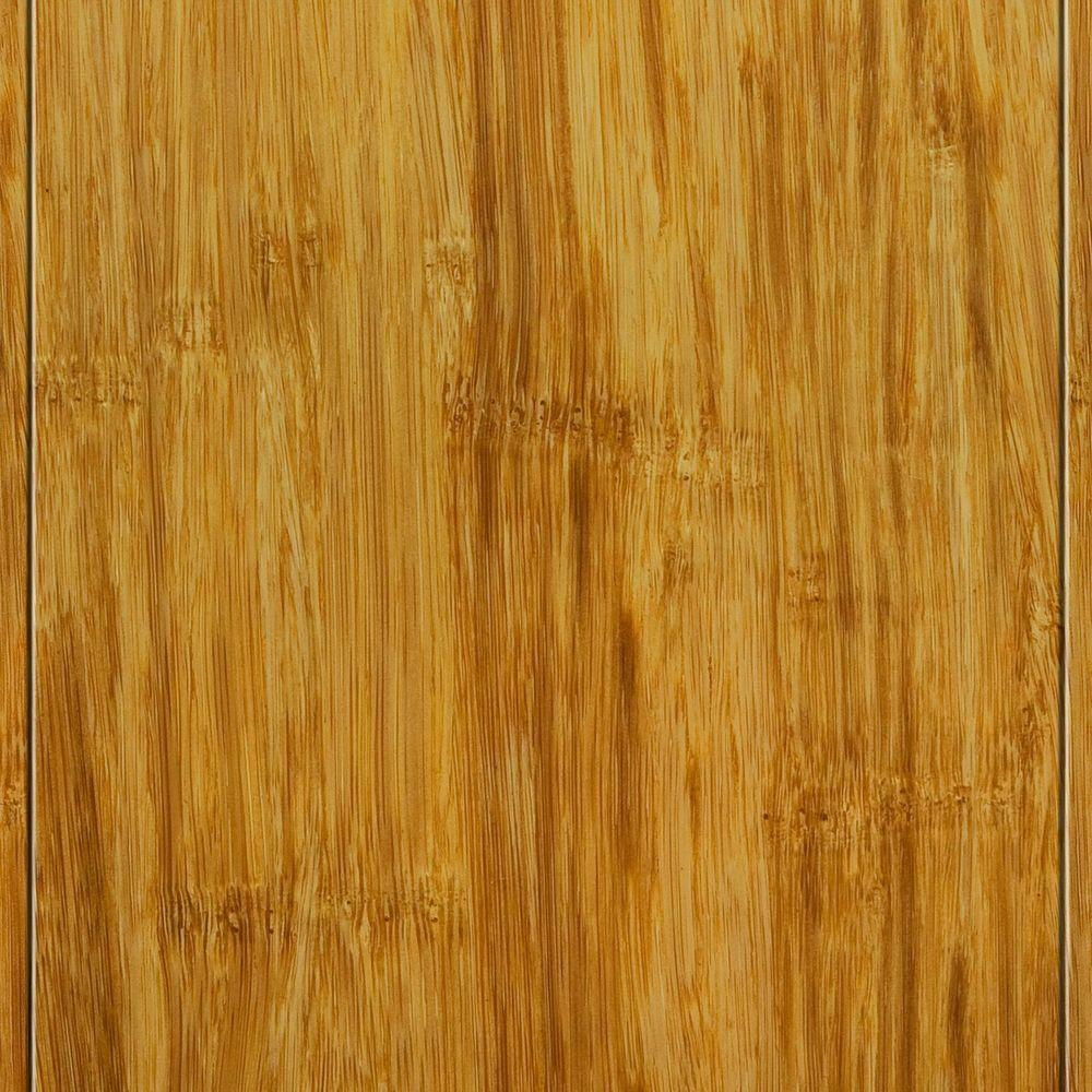 Strand Woven Natural 9/16 in. Thick x 4-3/4 in. Wide x 36 in. Length Solid T&G Bamboo Flooring (19 sq. ft. / case)