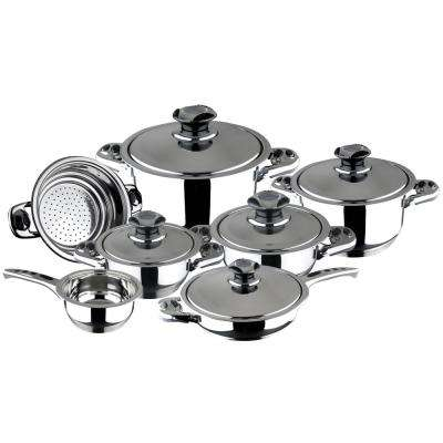Ecotherm 12-Piece Stainless Steel Cookware Set