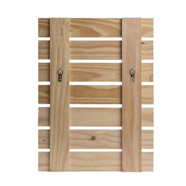 Pinnacle 18 In X 24 In Be Kind Rustic Wood Pallet Wall Art Decor 1805 3704 The Home Depot