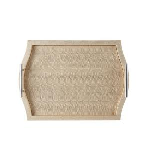 Bombay Cream Decorative Serving Tray by Bombay