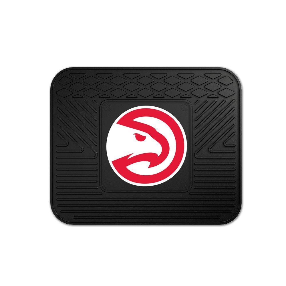 FANMATS Atlanta Hawks 14 in. x 17 in. Utility Mat
