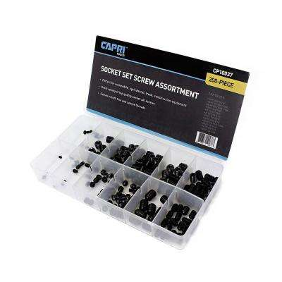 Allen Head Screw Assortment Set (200-Piece)