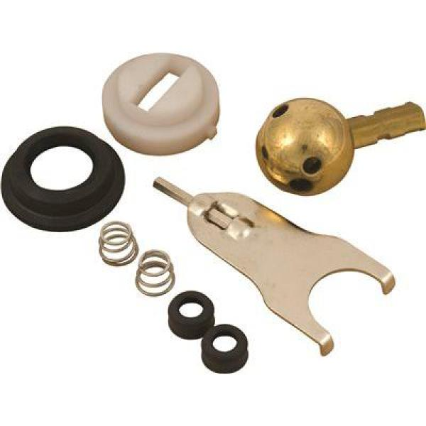 Kitchen Faucet Repair Kit for Delta Crystal Handled Faucets with Lead Free