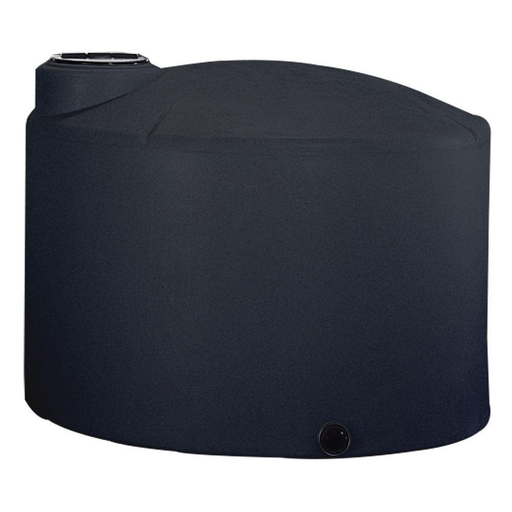 2500 Gal. Black Vertical Water Tank