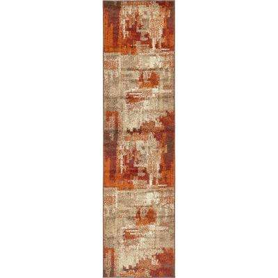 Autumn Cinnamon Multi 2' 6 x 10' 0 Runner Rug