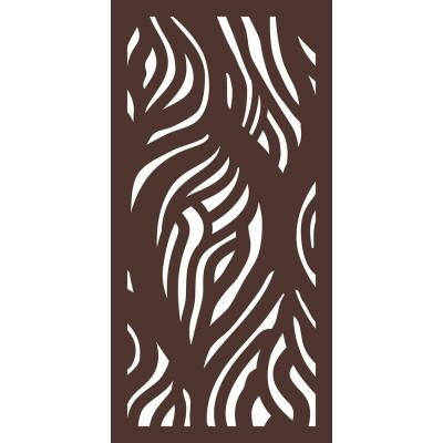5/16 in. x 24 in. x 48 in. Wooloomai Modular Hardwood Composite Decorative Fence Panel
