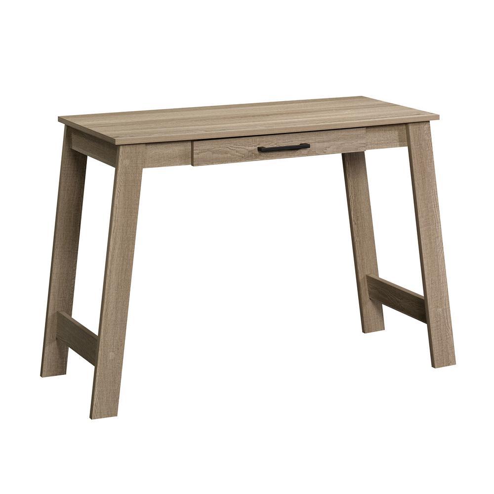 SAUDER 44 in. Rectangular Summer Oak 1 Drawer Writing Desk ...