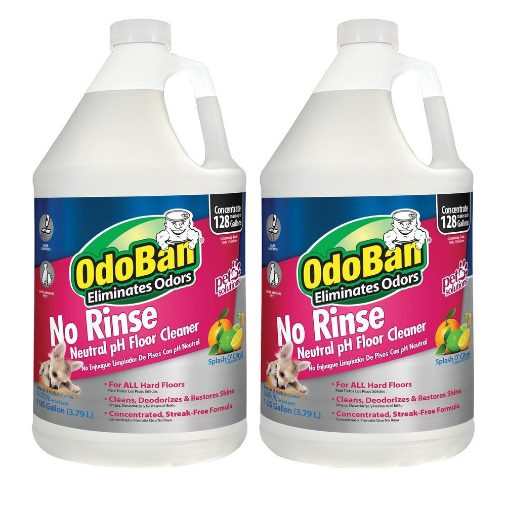 128 oz. Each No-Rinse Neutral pH Floor Cleaner (2 per Pack)
