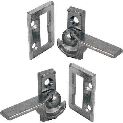 Zinc Left and Right Sliding Window Cam Latch