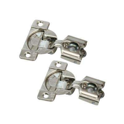 1/2 in. (35 mm) Overlay 108-Degree Soft Close Face Frame Cabinet Hinge (1-Pair)