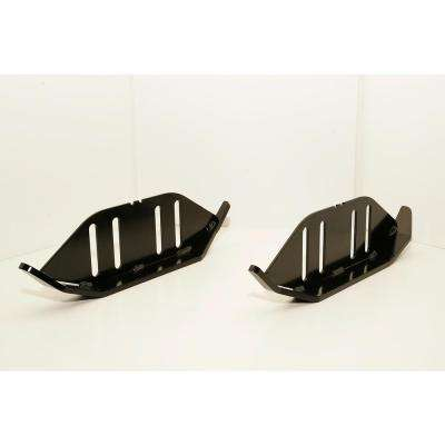Heavy Duty Snow Blower Skid Shoes Fits 2-1/4 in. and 4-1/4 in. Slot Spacing (Set of 2)