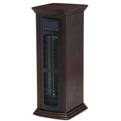 Life Pro Series 1500-Watt 27 in. Deluxe Infrared Room Tower Heater with Remote