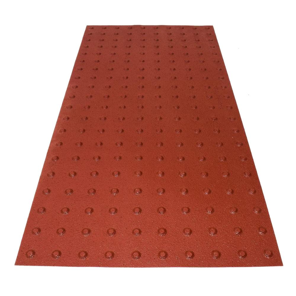 PowerBond 24 in. x 4 ft. Colonial Red ADA Warning Detectable