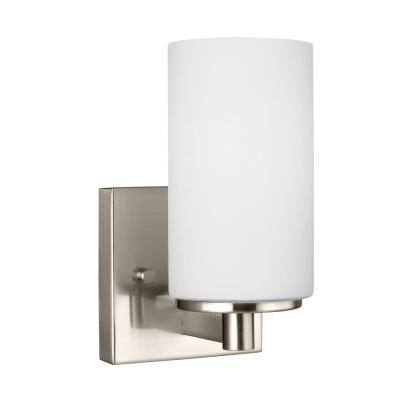 Hettinger 1-Light Brushed Nickel Sconce