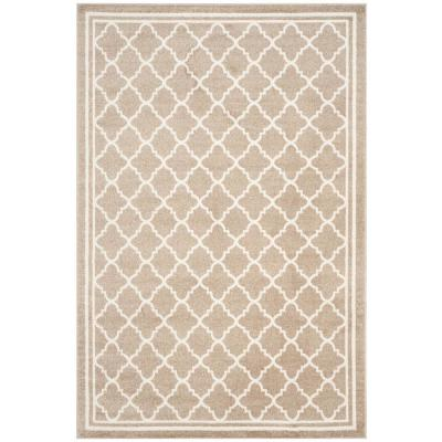 Amherst Wheat/Beige 6 ft. x 9 ft. Area Rug