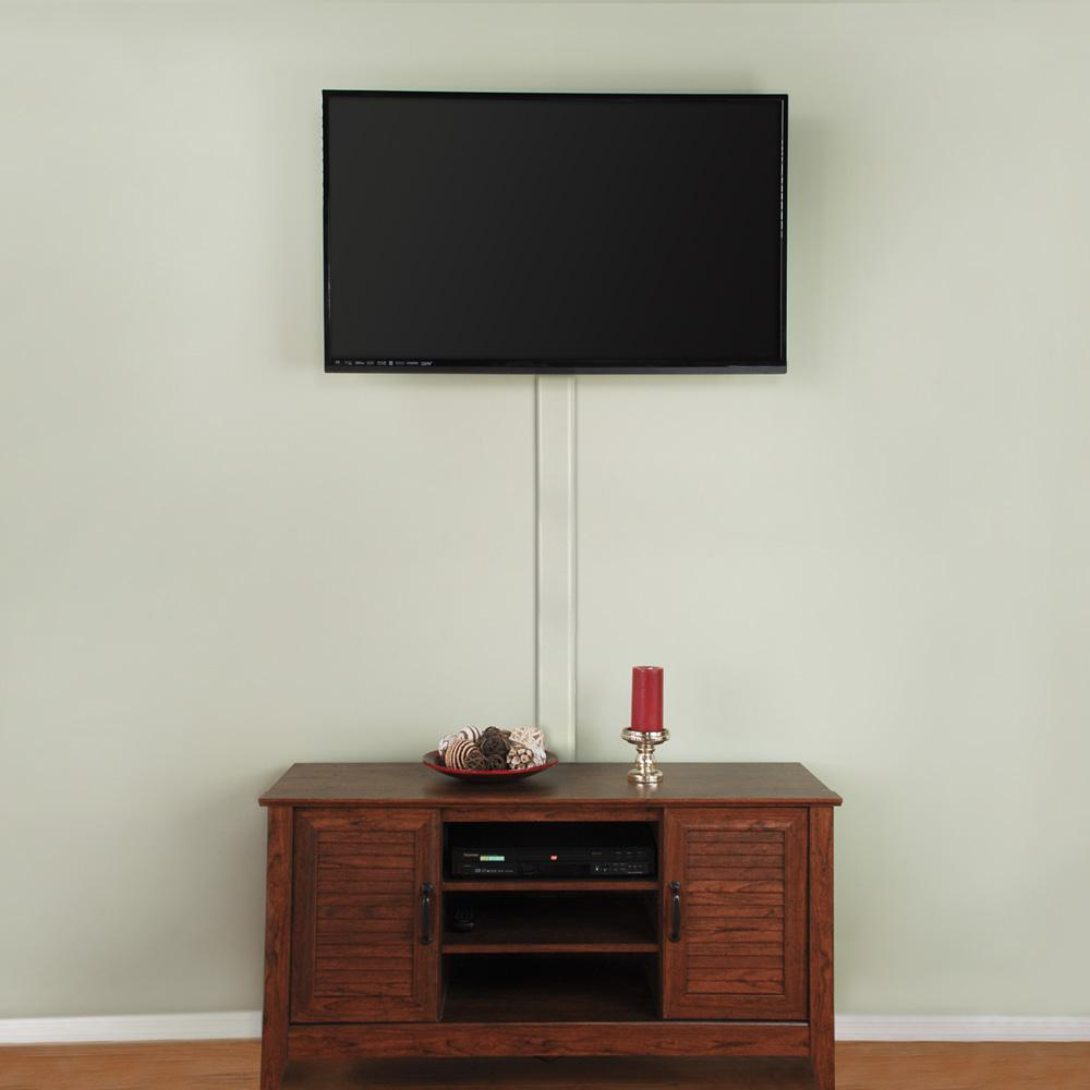 Commercial Electric Flat Screen TV Cord Cover-A31-KW - The Home Depot