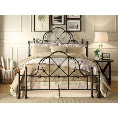 Emma Black Queen Bed Frame