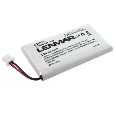 Lithium Ion 230mAh/3.7-Volt Cordless Phone Replacement Battery
