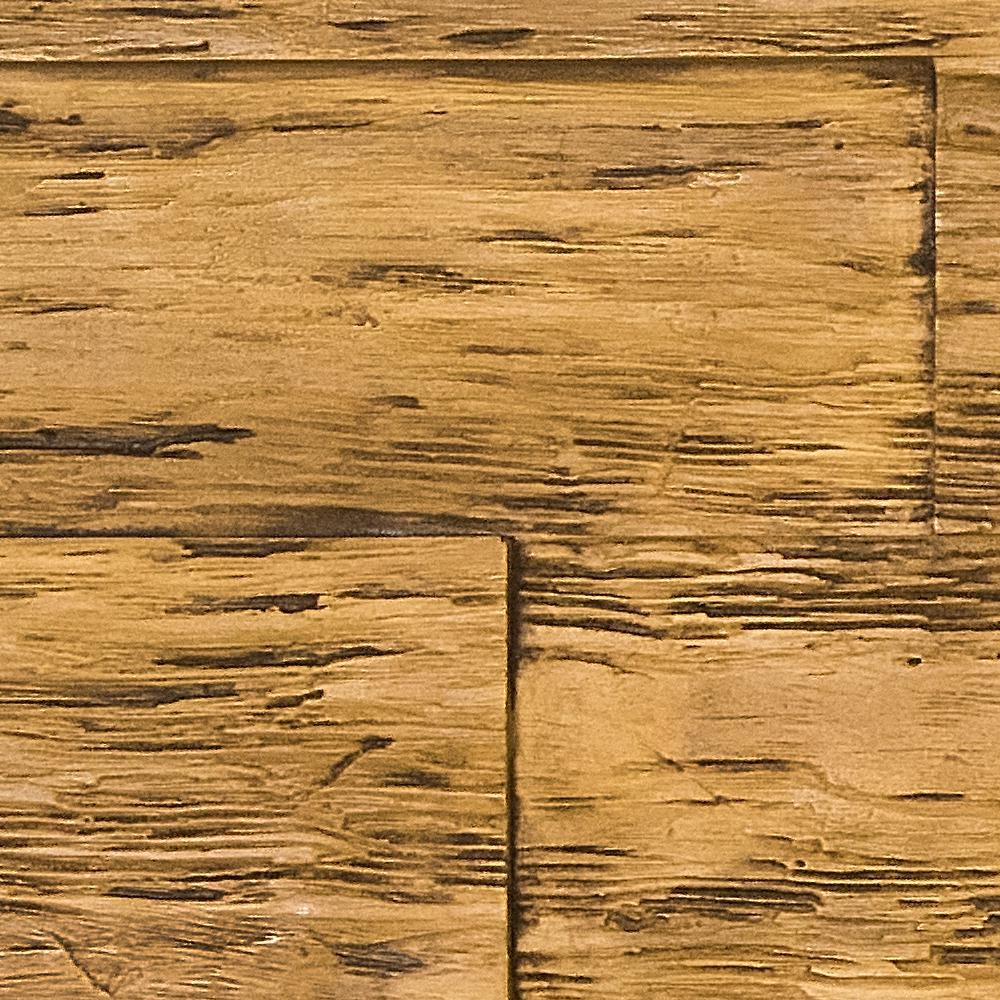 Superior Building Supplies Superior Time Weathered 10 in. x 10 in. Faux Rustic Panel Siding Sample Fall in Leaf Brown, Fall Leaf Brown This is a sample of the Superior Time Weathered rustic faux wood panel. The sample is a cut out of the panel finished in the fall leaf brown stain. The product size is approximate 10 in. x 10 in. Sample size may vary slightly. Each panel and sample are hand finished creating a natural wood feel. The tone may slightly vary.