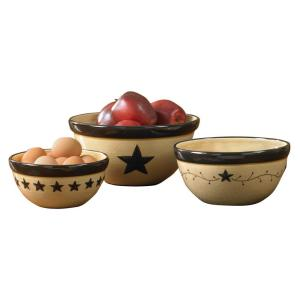 Star Vine 3-Piece Bowl Set